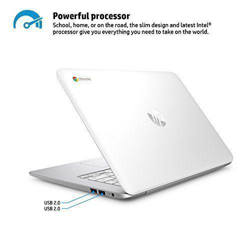 HP Chromebook 14  2 GB DDR3L SDRAM 14  BrightView LED backlit 1366 x 768