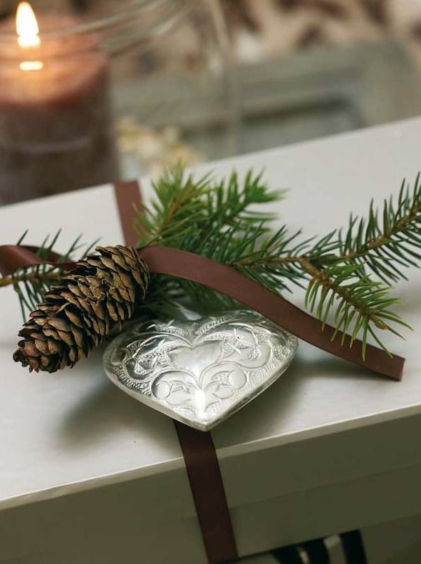 Holiday gift wrap from Inspiration Lane