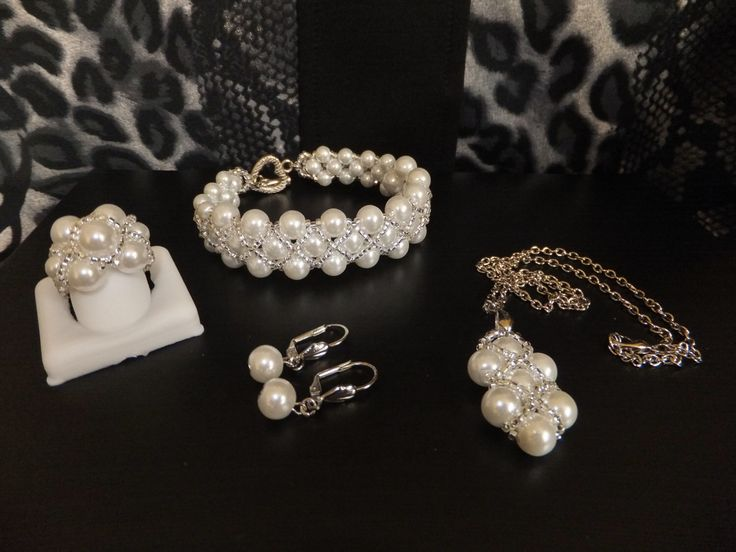 A personal favorite from my Etsy shop https://www.etsy.com/listing/99218402/25-sale-nowwhiteivory-pearls-jewelry