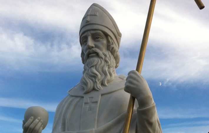 The Irish St. Malachy made predictions for every pope from his day until the end of the world.