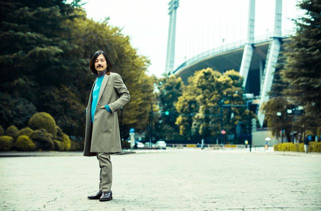 Tomoki Sukezane, most famous stylist in Japan.