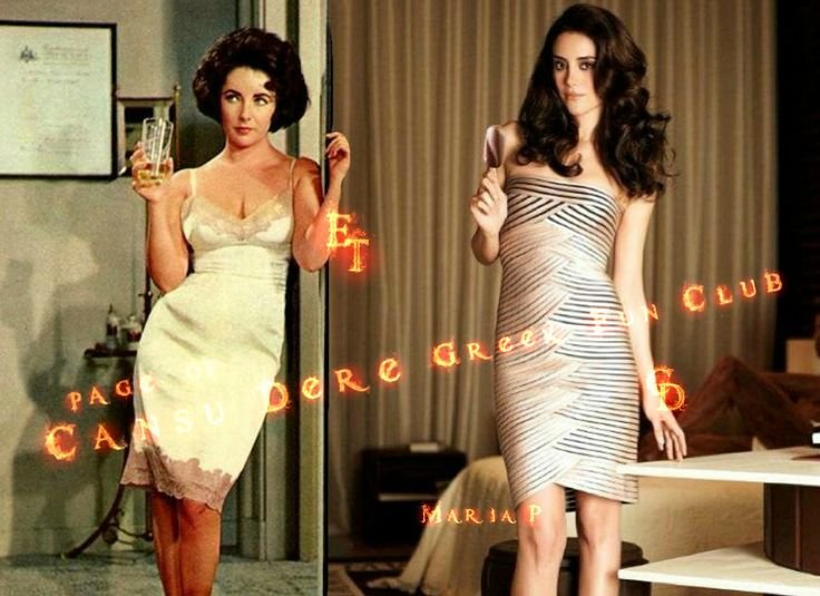 #CansuDere ~ #LizTaylor