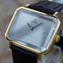 Omega Andrew Grima DeVille Manual Mens Gold Plated Vintage...