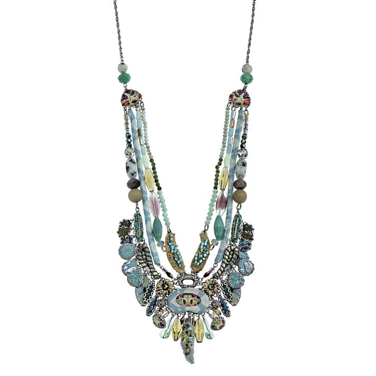 Aqua Shadow Necklace | Ayala Bar Hip Collection – Winter 2015/16