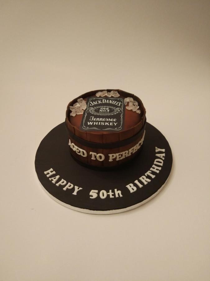 Jack Daniels - Cake by nef_cake_deco