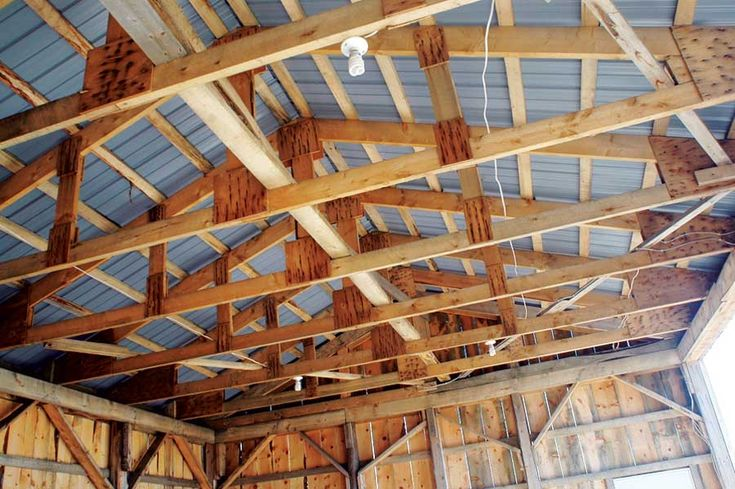 1000 images about ideas for the shop on pinterest atv for Pole barn construction