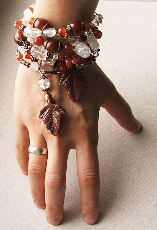 Handmade идеи для начинающих: мемори-проволока | Дизайн украшений из бисера