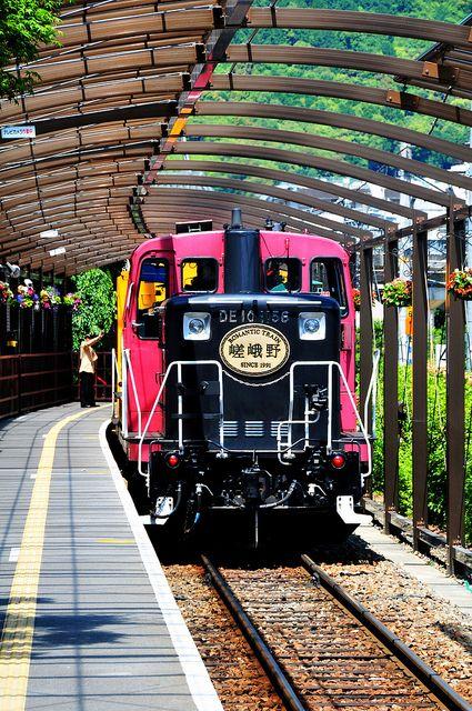 Sagano Scenic Railway (Saga Torokko Station) Kyoto Japan By Rosanna Leung