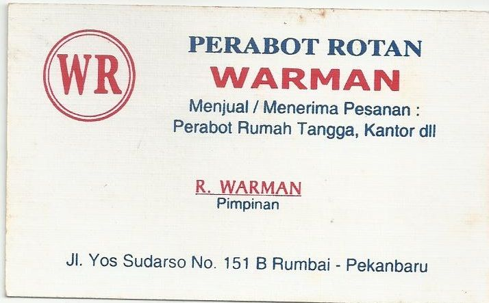 Perabot Rotan Warman