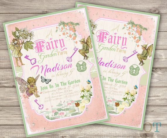 Best 25 Fairy Invitations Ideas On Pinterest Fairy Party