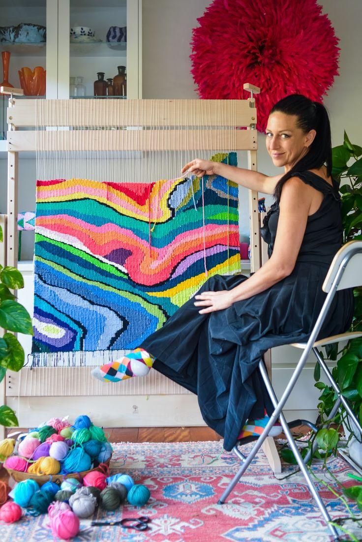dream...... create...... inspire......workshops natalie miller workshops I run regular tapestry weaving, macramé, knitting and d...