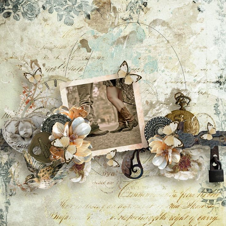 Time Immemorial by Studio Manu http://shop.scrapbookgraphics.com/search.php… — with Studio Manu,
