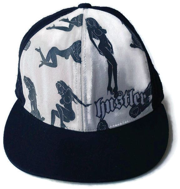 vintage hustler magazine hat baseball cap rare rated clothing shoes minor league hats