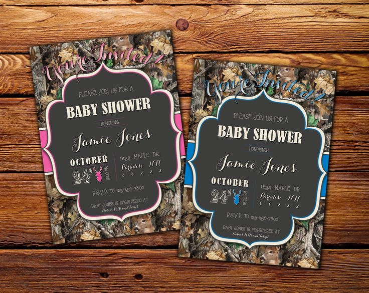 238 best baby shower invitesthank yous images on pinterest printable baby shower diaper shower invitation pink or blue invite hunting camo invite printable invite filmwisefo Gallery