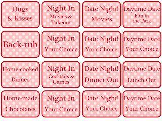 Free Printable Valentine's Day Coupon