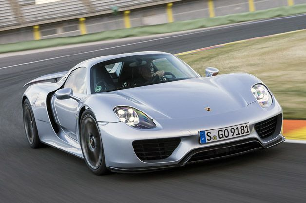 We get to drive the 2015 Porsche 918 #Spyder and check out its $63,000 paint job. Yes, seriously. Details --> http://aol.it/18kov22   @Porsche @Porsche Mania #porsche918spyer #porsche918