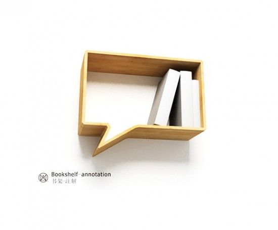 Cute (if Tiny) Bookshelf · Cool BookshelvesBook ...