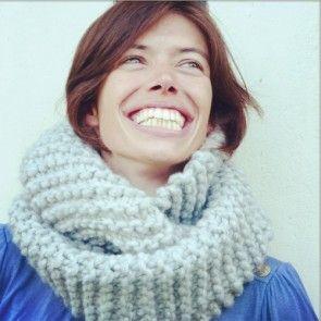 Kit tricot by WoolKiss : Snood en laine C'est-MOI-qui-l'ai-fait