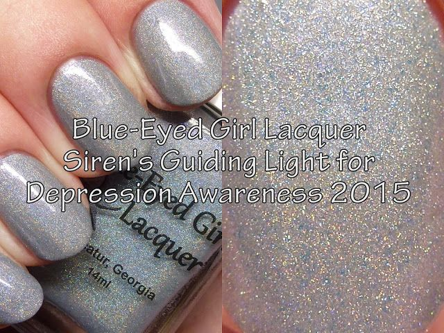 The Polished Hippy:Lighthouse of Hope Box: Blue-Eyed Girl Lacquer - Siren's Guiding Light