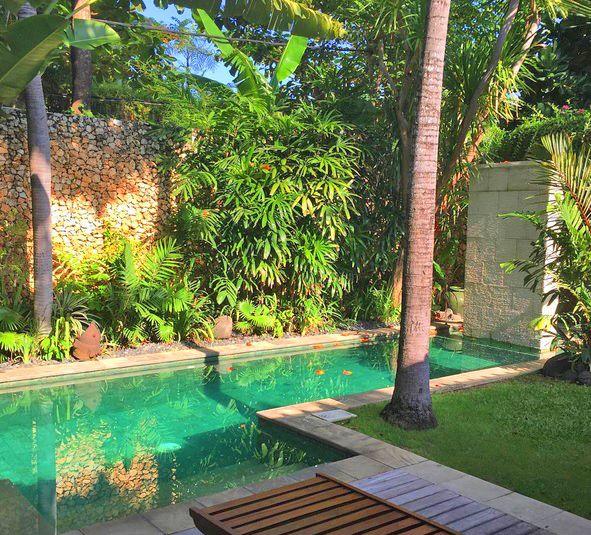 We just can't get enough of this little piece of haven – photo shared by @danae_bartle ☀️🌱💖  www.villakubu.com  #villakubu #seminyak #villa10 #bali #tropicalparadise #sanctuary #wanderlust #globetrotter #luxuryvilla