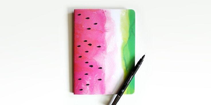 Ideas para forrar de manera lindísima tus cuadernos