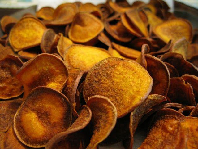 Sweet Potato Chips and 15 Paleo recipes for kids on MyNaturalFamily.com #paleo #recipe
