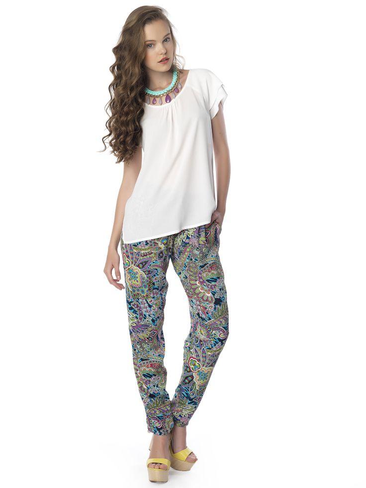 #white_top#boxy & #pants