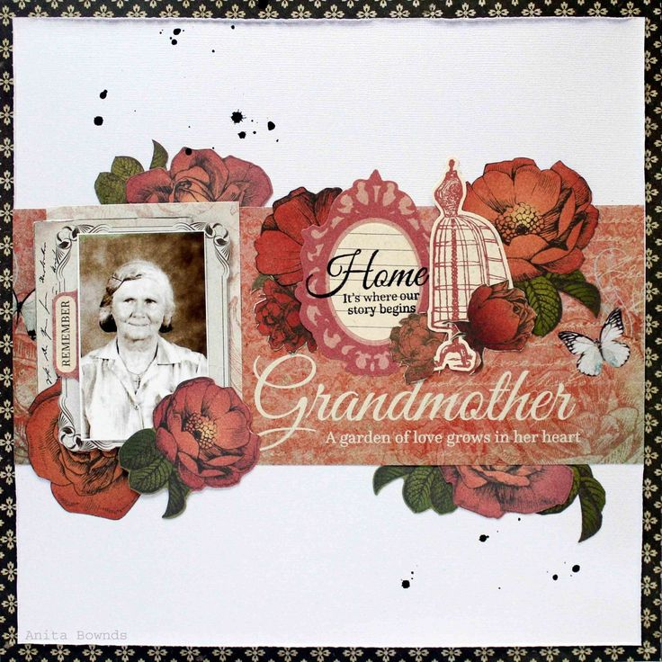 Kaisercraft Generations. Grandmother-layout-By-Anita-Bownds