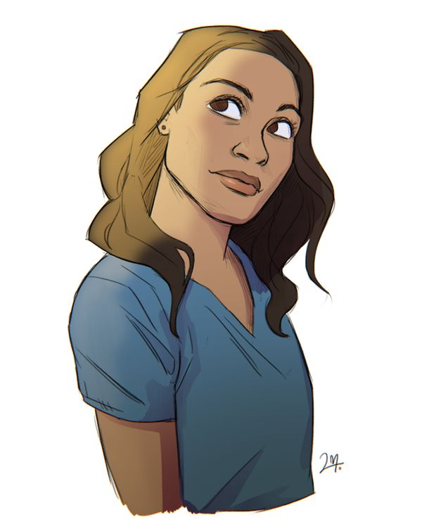 """ghostcat3000: """" Claire Temple by Lara Margarida """""""