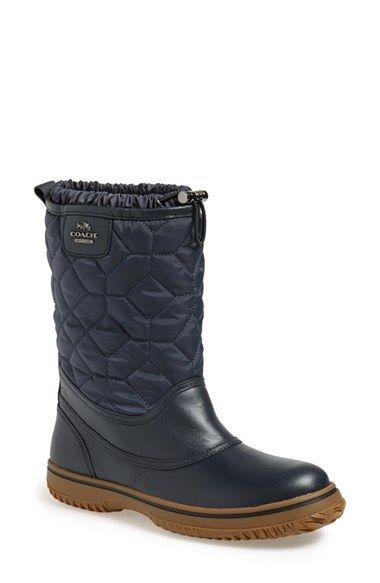 COACH 'Sparrow' Nylon Boot (Women) | Nordstrom
