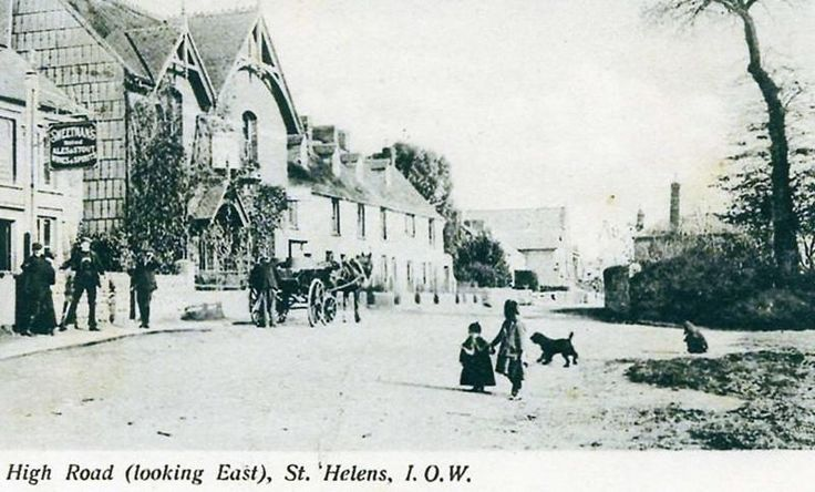 the history of st helens Isle of wight - Google Search