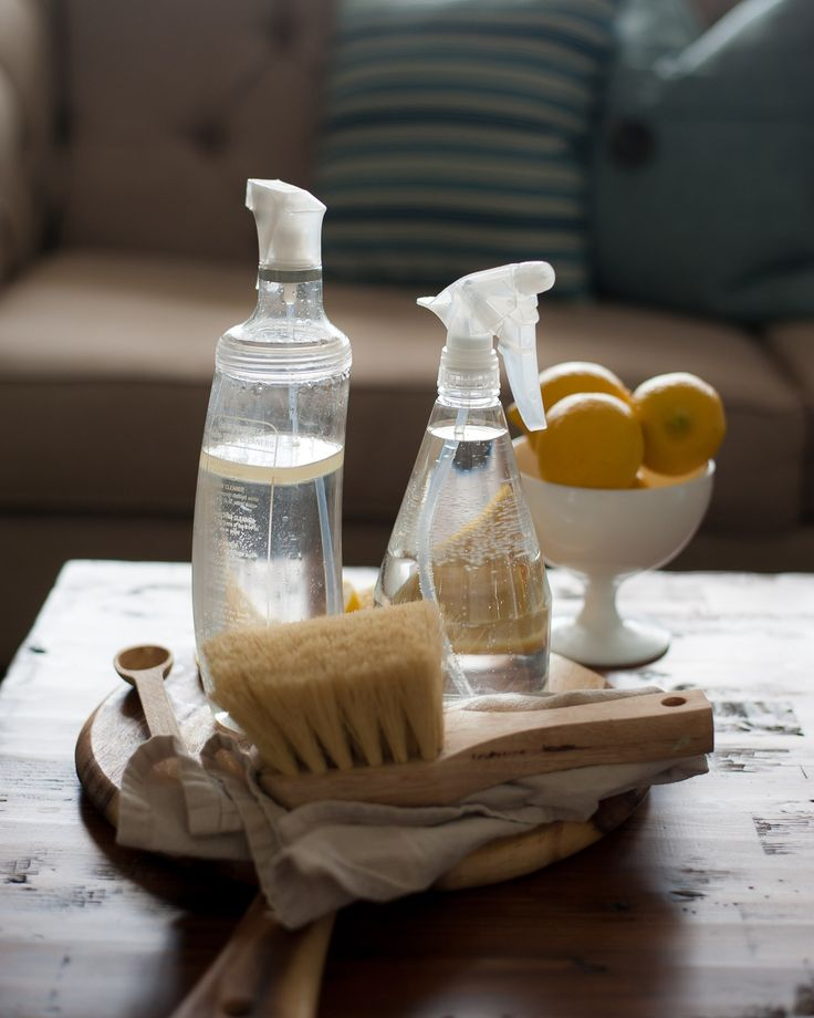Squeaky Clean: DIY natural cleaner for your wood furniture - Hello Yellow Blog