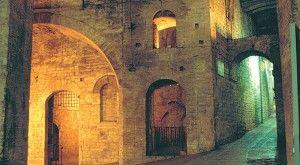 Terremoto , sopralluoghi a Perugia | Chiuso tratto della Rocca Paolini