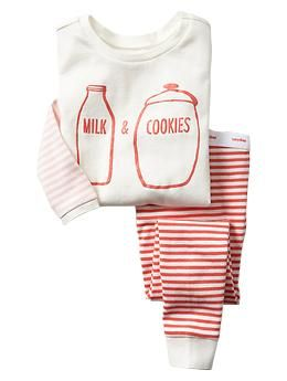 Milk & cookies sleep set | Gap