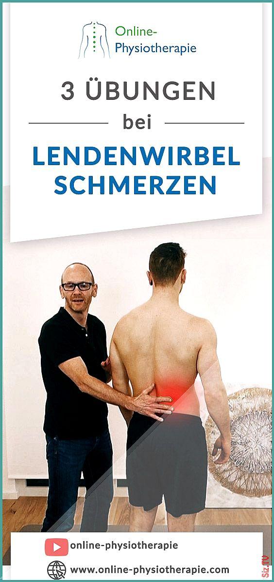 Rückenschmerzen unterer Rücken: 3 effektive Übungen um..