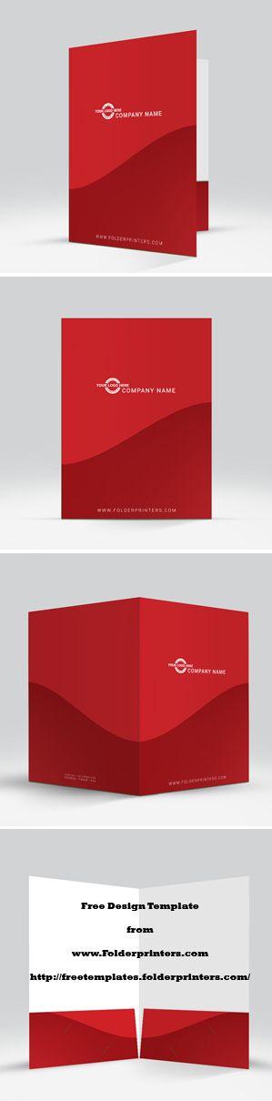 25 best FREE Presentation Folder Design Templates images on - resume folders