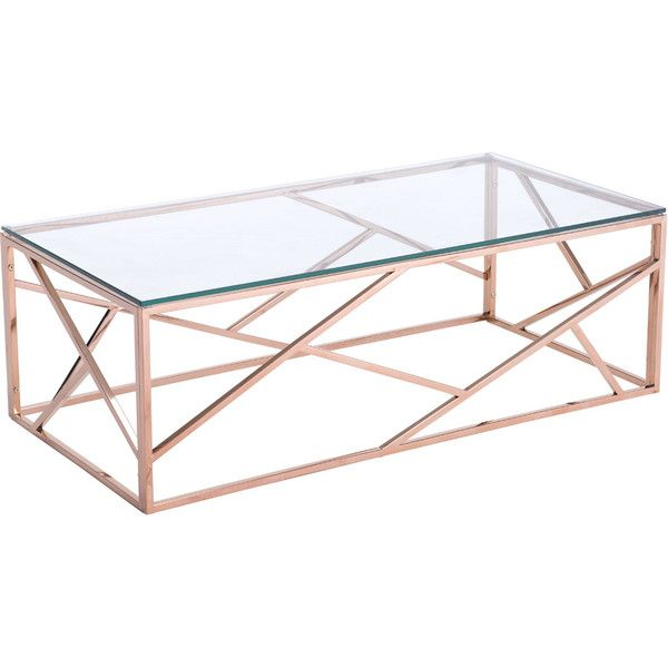 Candor Coffee Table Rose Gold - FROY