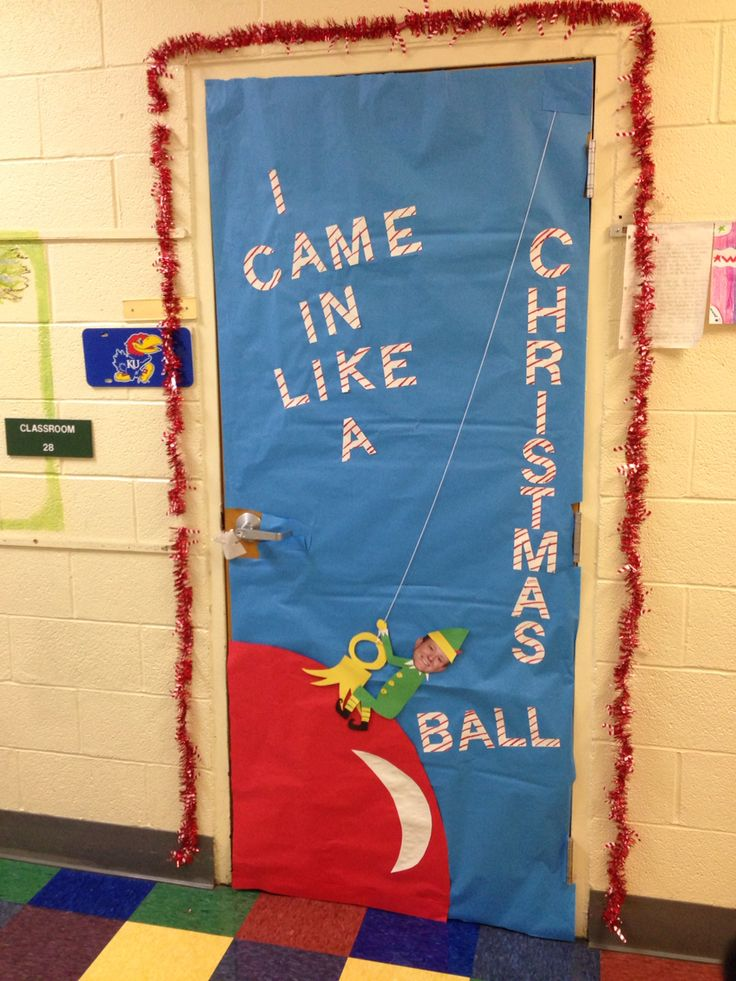 I Came In Like A Christmas Ball Holidays School