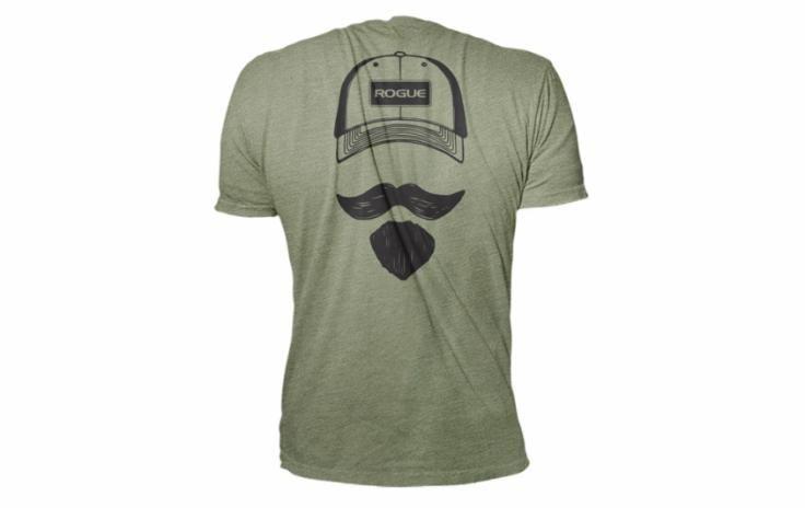Josh Bridges Stache Shirt | Rogue Fitness