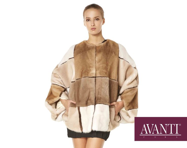 Amazing Mink Multicolor Jacket for your special occasions! #avantifurs #furs #jacket #mink #multicolor #spring #fashion #kastoria #furcity #handmade #getthelook