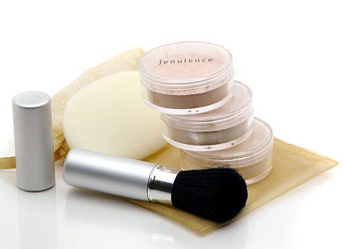 Jenulence mineral makeup 5-piece gift set