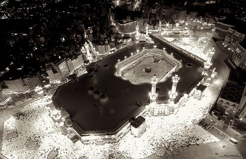 Mekkah At Night...