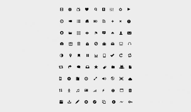 81 #Glyph #Icon Set, 316px, #Free, #Graphic #Design, #PSD, #Resource