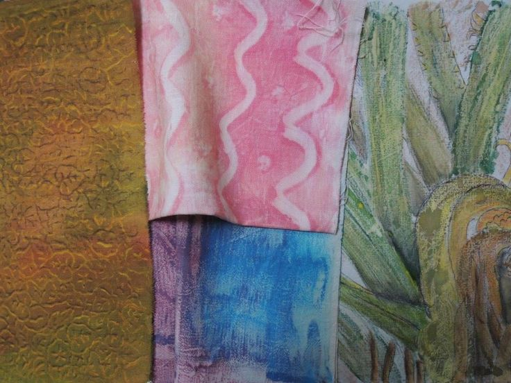 Learn how to create painted backgrounds for your embroidery projects.