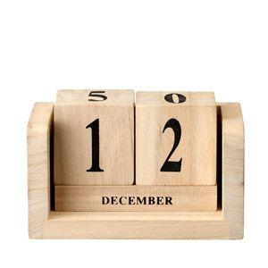 Kalendarz drewniany Bloomingville
