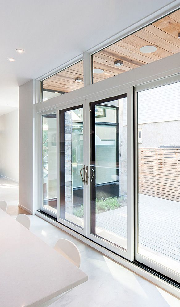 These Gorgeous Marvin Sliding Patio Doors Create The Perfect Connection Between The Inside Of The House And T Glass Doors Patio Sliding Patio Doors Patio Doors