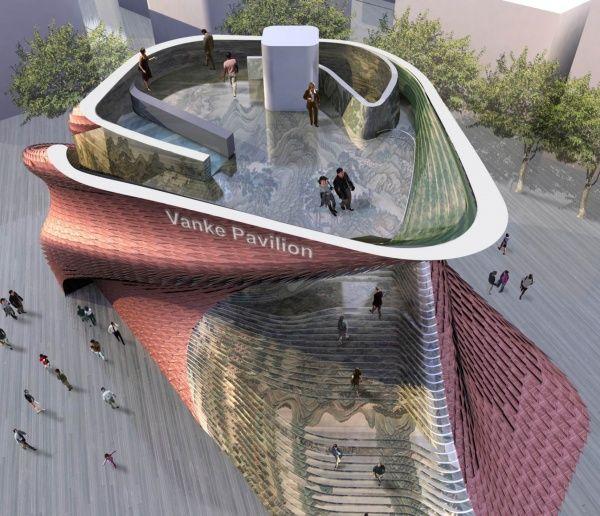 Expo 2015, il padiglione cinese Vanke si affida alla ceramica italiana | Architetto.info