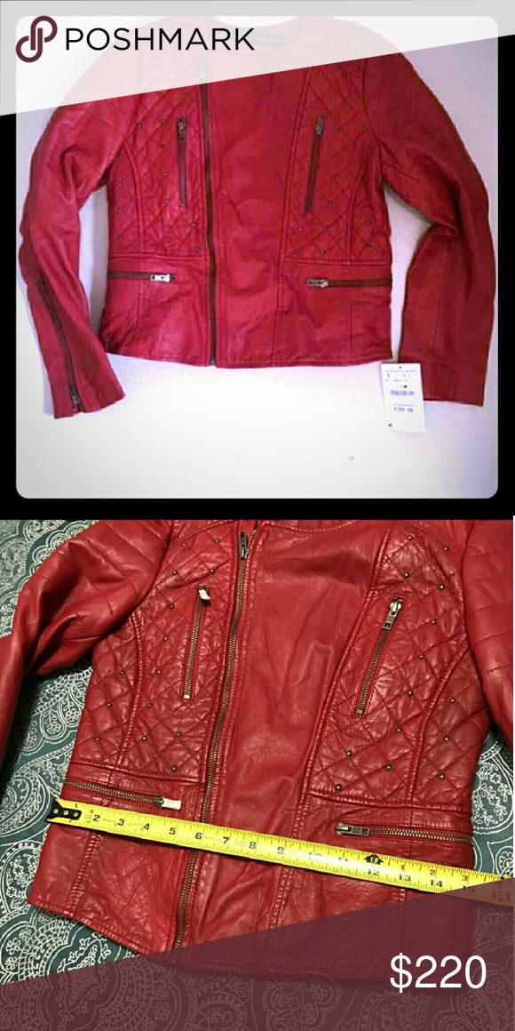 ZARA GENIUNE SHEEP LEATHER JACKET ...SMALL Zara Genuine Leather 80's Leather Jacket..So cute!! Too small!! ??. NWOT Zara Jackets & Coats Jean Jackets