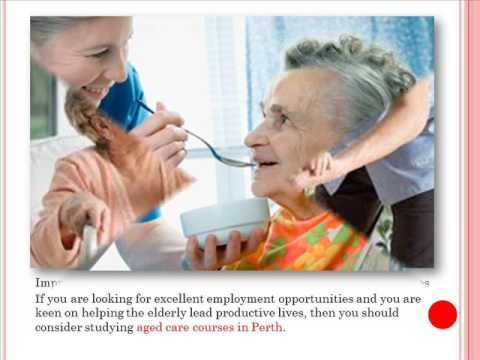 Perks of Taking Up Aged Care Courses in Perth - YouTube