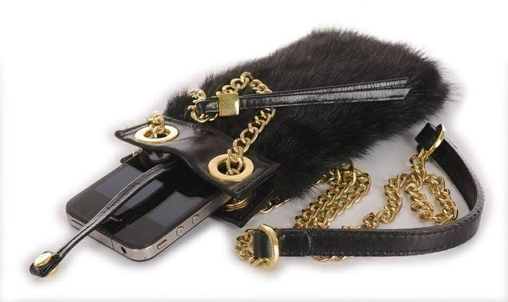 Era Furs Luxury Mink Case for Smart Phone